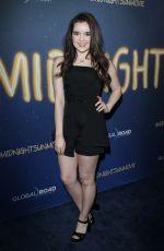 AUBREY MILLER at Midnight Sun Premiere in Hollywood 03/15/2018