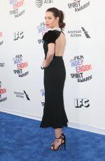 AUBREY PLAZA at 2018 Film Independent Spirit Awards in Los Angeles 03/03/2018