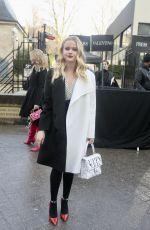 AVA PHILLIPPE at Valentino Show at Paris Fashion Week 03/04/2018