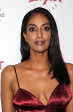 AZIE TESFAI at Metrograph 2nd Anniversary Party in New York 03/22/2018