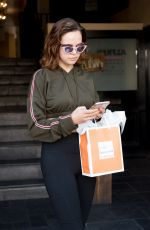 BAILEE MADISON Out Shopping in Los Angeles 03/14/2018