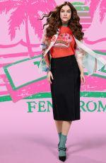 BARBARA PALVIN for Fendi Pop Tour Spring 2018 Campaign
