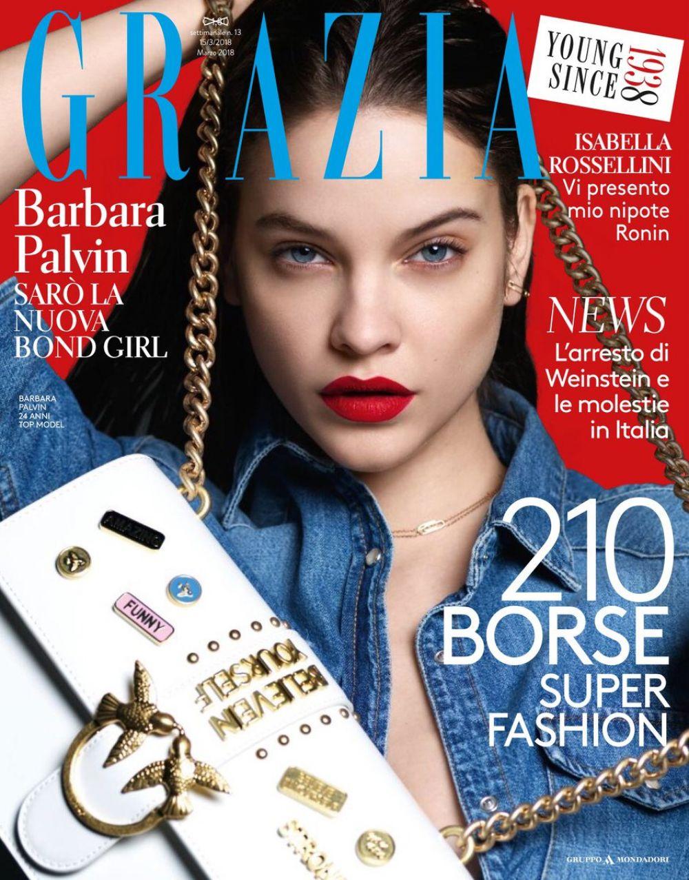BARBARA PALVIN for Grazia Magazine Italy March