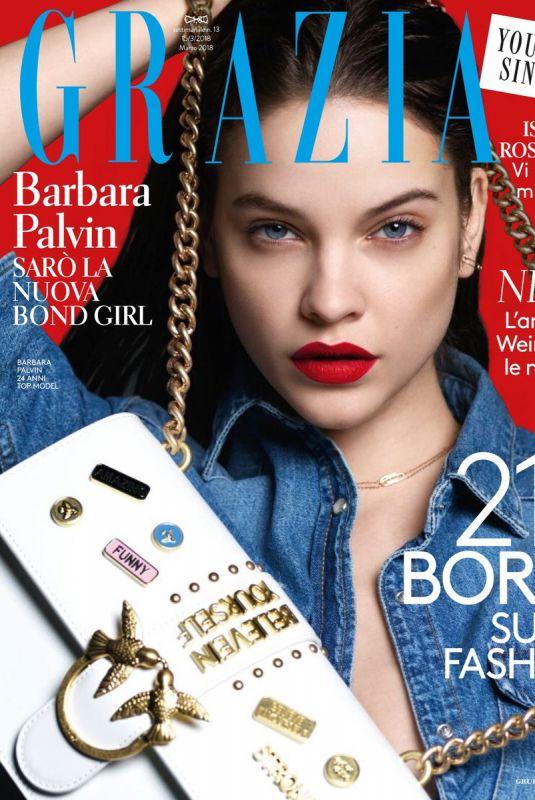 BARBARA PALVIN in Grazia Magazine, Italy March 2018