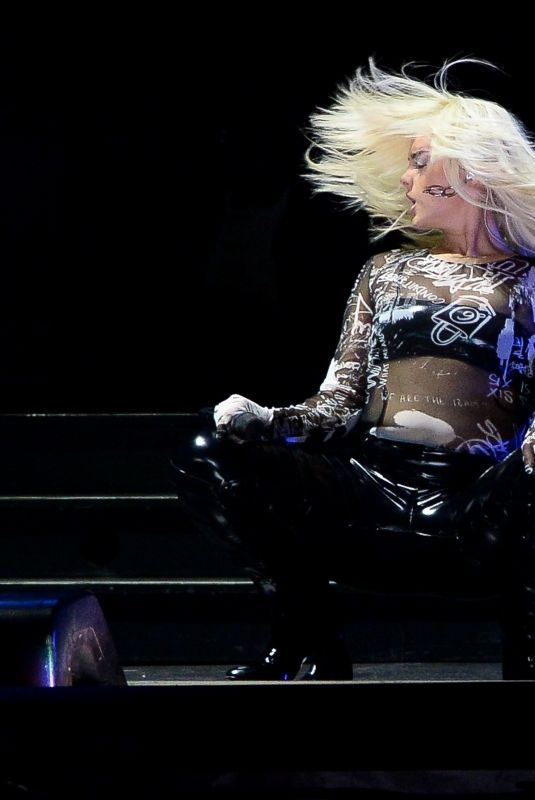 BEBE REXHA Surprises the Crowd as a Special Guest for Katy Perry