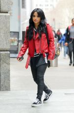 BECKY G Out and About in New York 03/28/2018