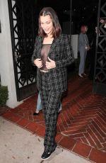 BELLA HADID at a Dior Party at Gracias Madre in Los Angeles 03/13/2018