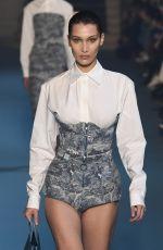 BELLA HADID at Off-white Runway Show at Paris Fashion Week 03/01/2018