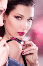 BELLA HADID for Dior Addict Lip Lacquer Plump 2018 Campaign