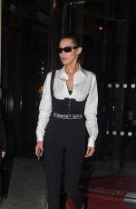 BELLA HADID Heading to Off-white Fashion Show in Paris 03/01/2018