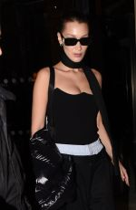 BELLA HADID Leaves Her Hotel in Paris 03/06/2018