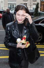 BELLA HADID Out and About in New York 03/26/2018