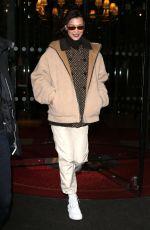 BELLA HADID Out at Paris Fashion Week 03/04/2018