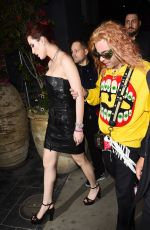 BELLA THORNE and Mod Sun at Avenue Nightclub in Hollywood 03/15/2018
