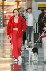 BELLA THORNE and Mod Sun at JFK Airport in New York 03/20/2018