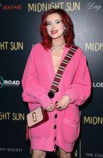 BELLA THORNE at Cinema Society & Day Owl Rose Host a Screening of Midnight Sun in New York 03/22/2018