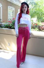 BELLA THORNE at Midnight Sun Press Conference in Los Angeles 03/15/2018