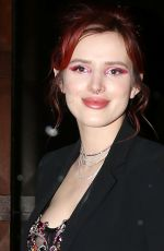 BELLA THORNE Heading to Live with Kelly and Ryan in New York 03/20/2018