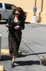 BETHANY JOY LENZ Out with Her Dog in Los Angeles 03/15/2018