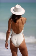 BETHENY FRANKEL in Swimsuit at a Beach in Miami 03/06/2018