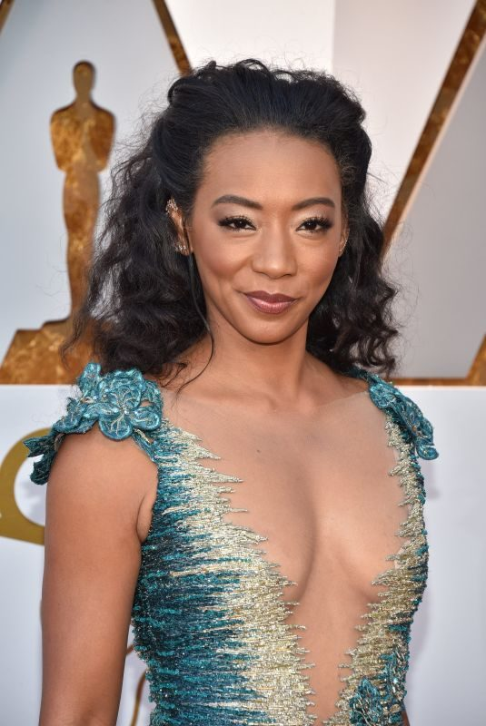 BETTY GABRIEL at Oscar 2018 in Los Angeles 03/04/2018