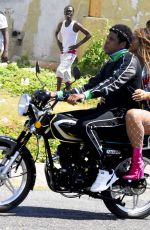 BEYONCE and Jay-Z on the Set of a Video in Kingston 03/20/2018