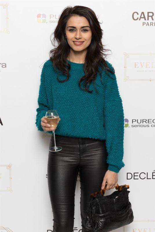 BHAVNA LIMBACHIA at Evelyn House of Hair and Beauty VIP Night Party in Manchester 03/20/2018