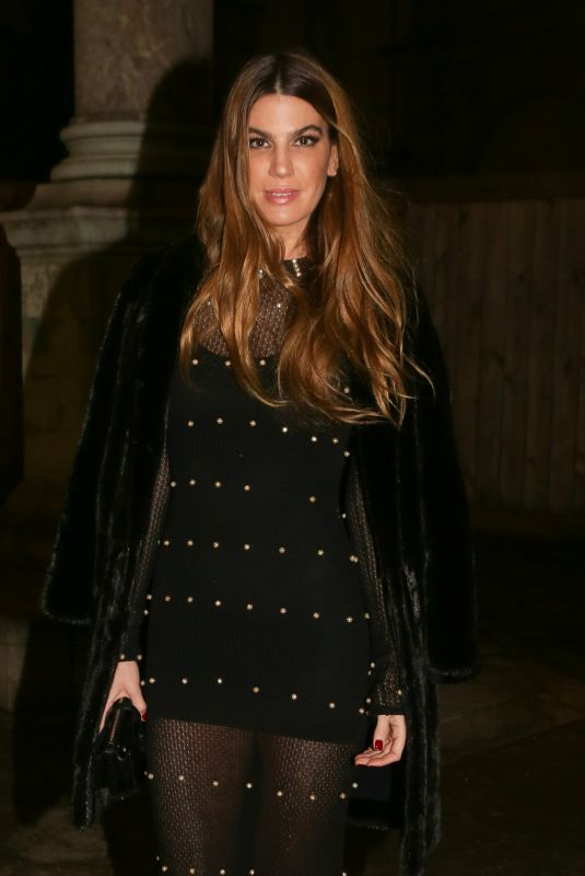 BIANCA BRANDOLINI at Sonia Rykiel Fashion Show in Paris 03/03/2018