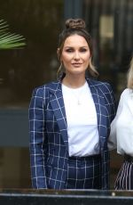 BILLIE and SAM FAIERS at ITV Studios in London 03/28/2018