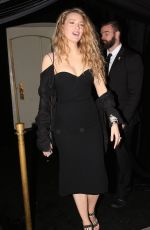 BLAKE LIVELY Leaves Delilah Nightclub in West Hollywood 03/13/2018