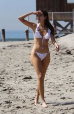 BLANCA BLANCO in Bikini at a Beach in Malibu 03/08/2018