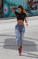 BLANCA BLANCO in Jeans Out in Los Angeles 03/03/2018