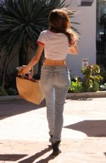 BLANCA BLANCO in Ripped Jeans Out Shopping in Malibu 03/28/2018