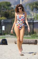 BLANCA BLANCO in Swimsuit at a Beach Malibu 03/09/2018