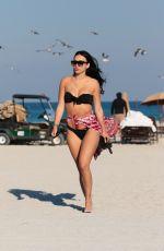BRE TIESI in Bikini at a Beach in Miami 03/15/2018