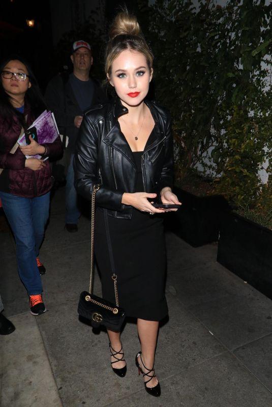 BREC BASSINGER at Avenue Nightclub in Hollywood 03/15/2018