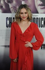BREC BASSINGER at Chappaquiddick Premiere in Los Angeles 03/28/2018