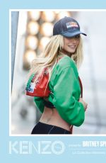 BRITNEY SPEARS for Kenzo 2018 Campaign