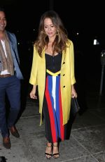 BROOKE BURKE Leaves Matsuhisa Restaurant in Beverly Hills 03/20/2018