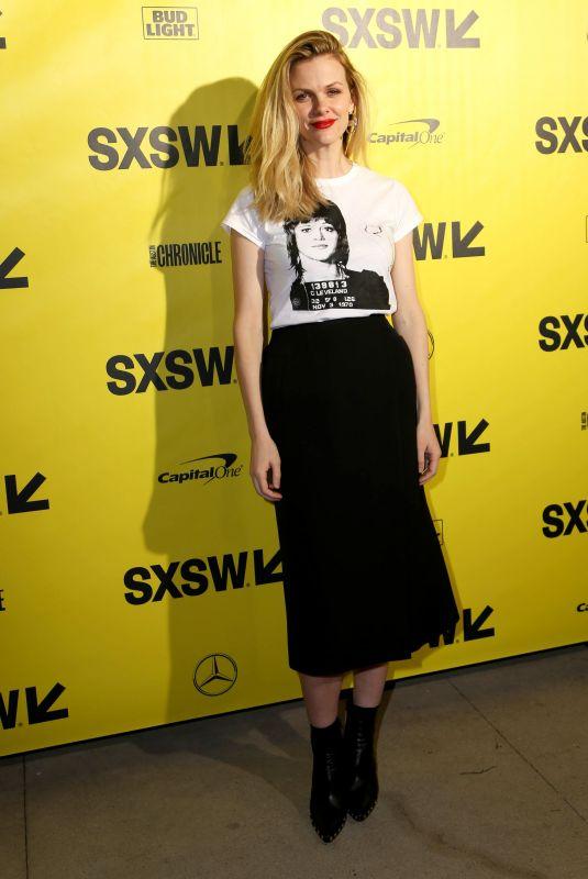BROOKLYN DECKER at Support the Girls Premiere at SXSW Festival ai Austin 03/09/2018