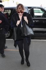 BRYCE DALLAS HOWARD Arrives at LAX Airport in Los Angeles 03/18/2018
