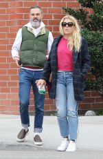 BUSY PHILIPPS and Marc Silverstein Out Shopping in Beverly Hills 03/20/2018