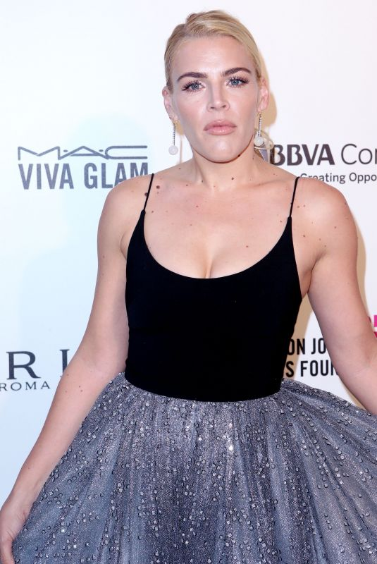 BUSY PHILIPPS at Eton John Aids Foundation Academy Awards Viewing Party in Los Angeles 03/04/2018
