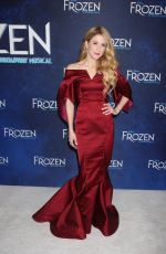 CAISSIE LEVY at Frozen Musical Opening Night in New York 03/20/2018