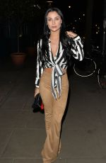 CALLY JANE BEECH and KADY MCDERMOTT at Roka Restaurant in London 03/22/2018