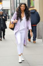 CAMILA ALVES Out and About in New York 03/28/2018