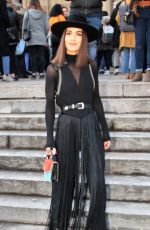 CAMILA COELHO at Elie Saab Show at Paris Fashion Week 03/03/2018