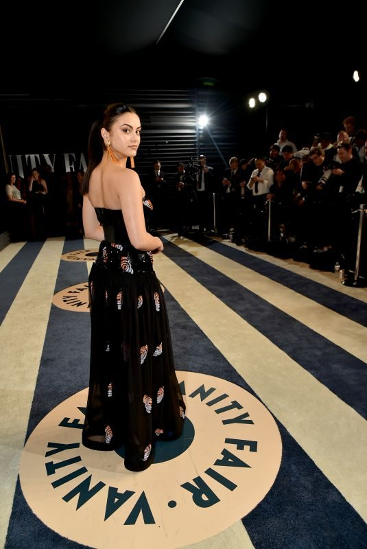 CAMILA MENDES at 2018 Vanity Fair Oscar Party in Beverly Hills 03/04/2018