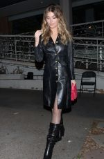 CAMILA MORRONE Leaves Madeo Restaurant in West Hollywood 02/28/2018