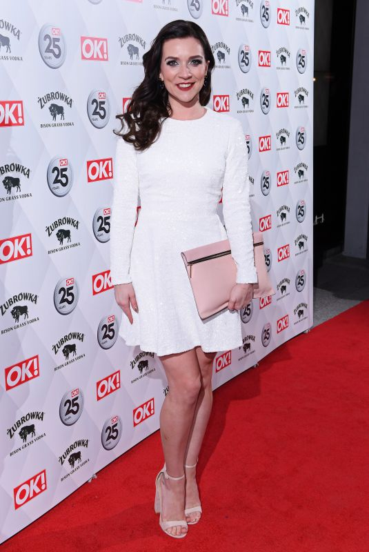 CANDICE BROWN at OK! Magazine's 25th Anniversary in London 03/21/2018